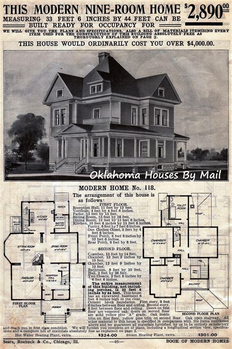 sears house plans the sears 118 a very popular early sears modern home