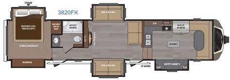 front kitchen rv floor plans new 2016 keystone rv montana 3820 fk fifth wheel at