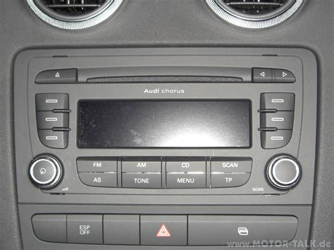 Audi Radio Chorus by Cimg2270 Chorus Radio Aber Welche Version Audi A3 8p