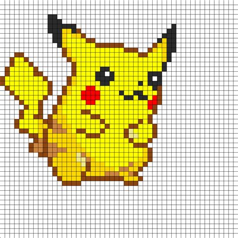 hama bead template printable 8 and 16 bit characters out of plastic