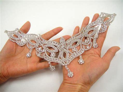diamante applique sweet rhinestone applique wedding rhinestone