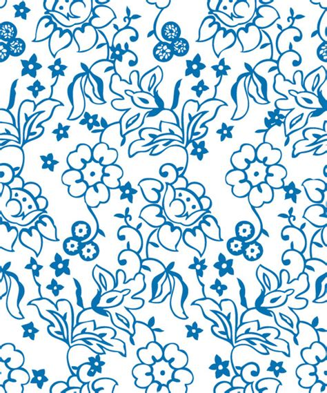 ornamental pattern ai flowers decorative pattern background vector free vector