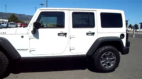rubicon jeep white 2013 jeep wrangler unlimited rubicon white w7976