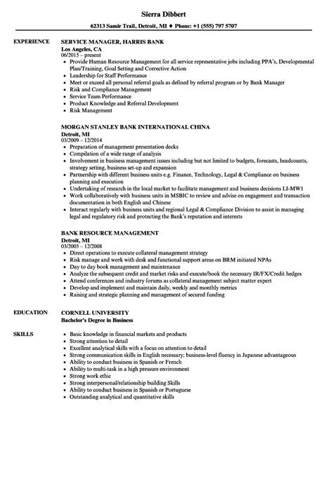 Bsa Officer Cover Letter by Bsa Officer Sle Resume Product Statement Of Account Template Free Executive Administration