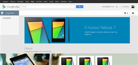 Play Store Devices Play Store Devices Arriva In Italia Iwinuxfeed