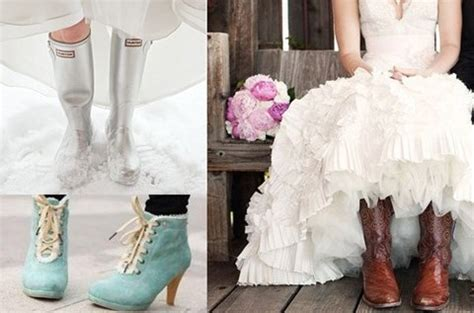 59 cool winter bridal shoes boots and flats to get