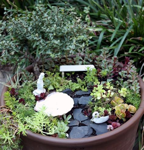 miniature garden containers living miniature gardens by mcentire cotton ridge