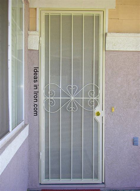 Front Door Security Screen Door Security Front Door Security Screen