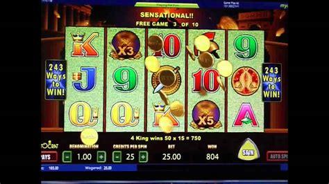 pompeii slot machine  play  slot games youtube
