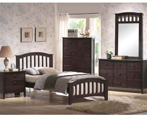 acme furniture bedroom sets acme furniture bedroom set in walnut ac04980tset