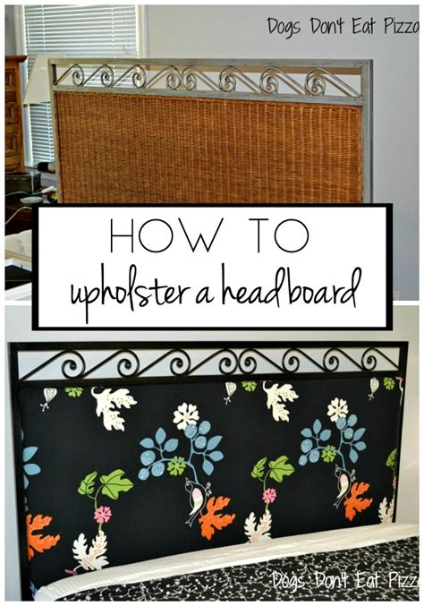 how to upholster headboard how to upholster a headboard the diy bungalow