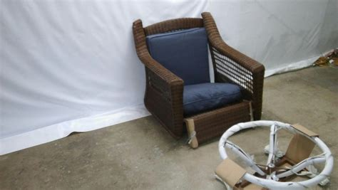 Hton Bay Swivel Patio Chairs Wicker by Pallet Hton Bay Wicker Patio Swivel
