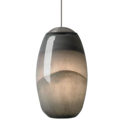 Purple Pendant Light Shade Lbl Lighting Emi 1 Light Bronze Xenon Mini Pendant With Gray Purple Shade Hs593ypbz1bmpt