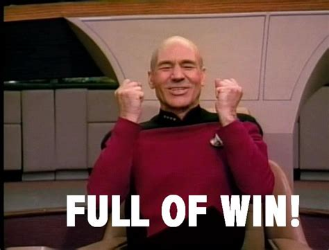 Piccard Meme - captain picard full of win 171 fantasy faction