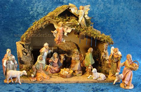 fontanini 5 quot scale nativity scene 16pc figure set w