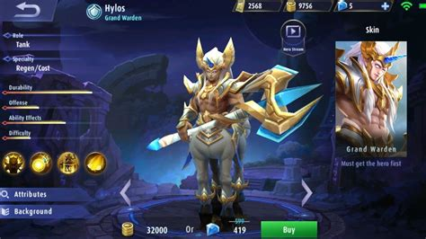 mobile legend new new hylos mobile legends
