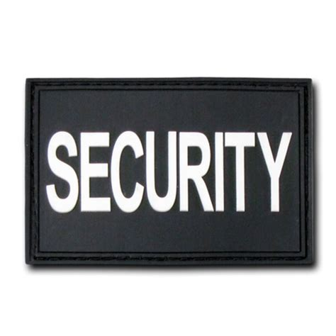 security pvc patch black 2 quot x 3 quot scorpius tactical llc