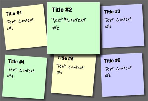 web design tutorial notes css create a post it note the web thought