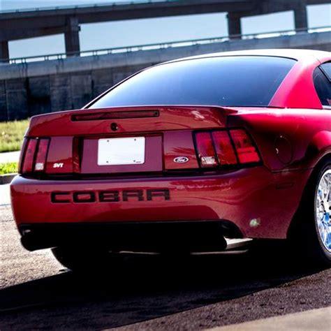 mustang cobra spoiler mustang 03 04 cobra rear spoiler w 3rd brake light