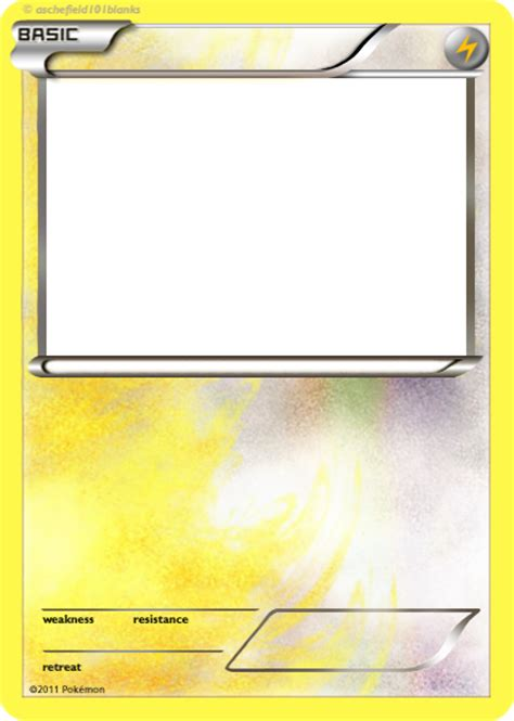 legendary card template png colorless electric delta ex blank by jackofalltrades2012