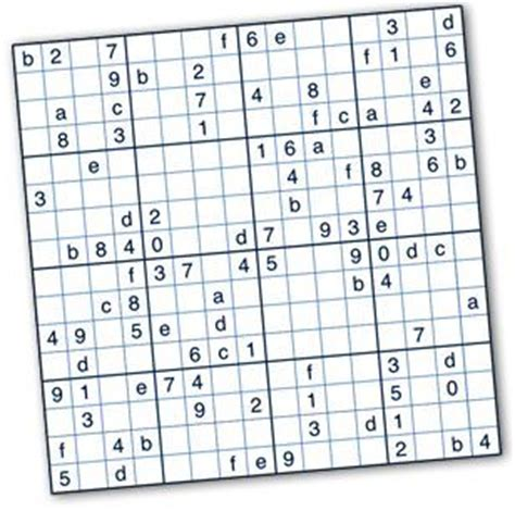 printable puzzles by krazydad free printable hexadecimal sudoku puzzles by krazydad