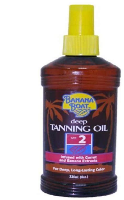 banana boat tanning oil banana boat deep tanning oil spf 2 238 ml price from