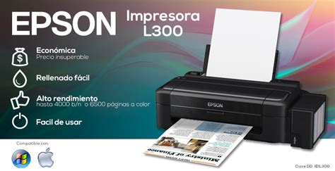 Printer Epson Seri L300 impresora epson l300 econ 243 mica digital depot