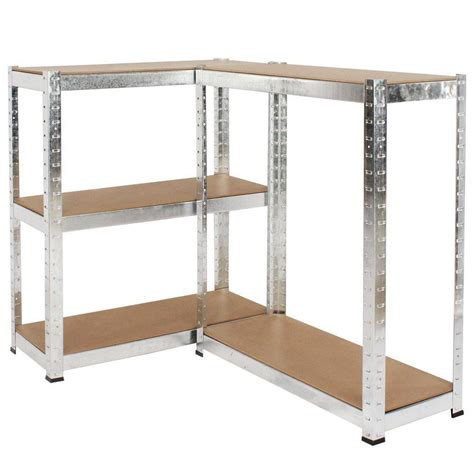 500kg heavy duty 5 tier metal storage garage shelving