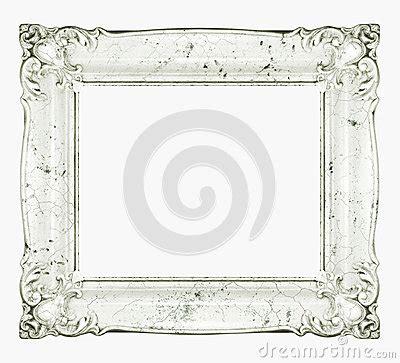cadre baroque de marbre blanc photo stock image 51288085