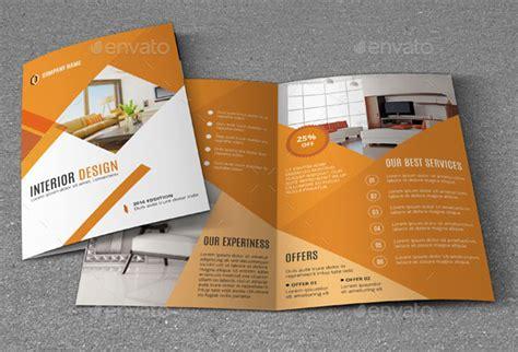 amazing interior design brochure templates pixel curse