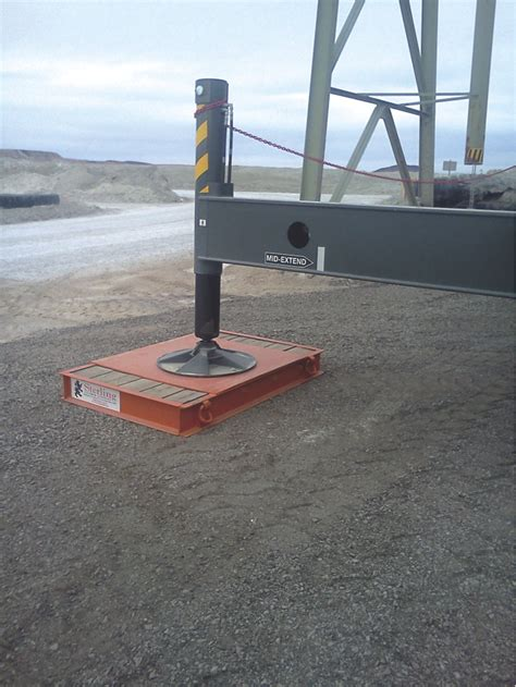 Steel Crane Outrigger Mats by Sterling Lumber C Channel Outrigger Mat Adds Safety To
