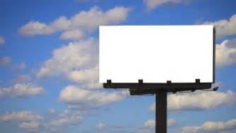 billboard template blank billboard with cloud time lapse clip 23167872