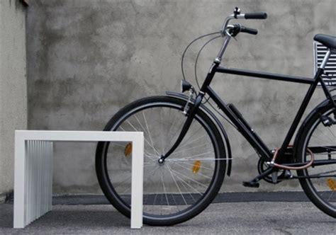 bike bench bench doubles as a bike rack