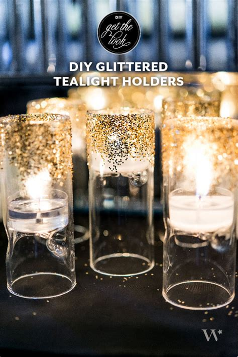 Gold Mercury Glass Vase Diy Wedding Decor Ideas A Touch Of Art Deco Gold The