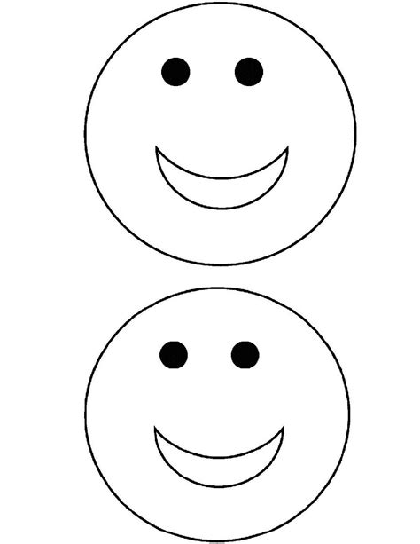 Printable Smiley Face Coloring Pages Coloring Me Smiley Coloring Page