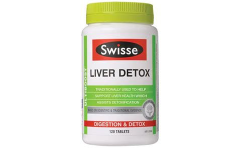 Bo Detox by Swisse Ultiboost Liver Detox Hộp 120 Vi 234 N Vi 234 N Uống Bổ