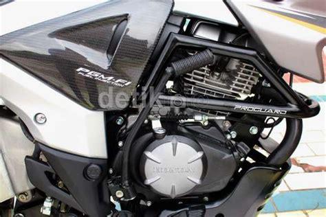Lu Hid Motor Megapro modifikasi honda new megapro bergenre touring ala ahm