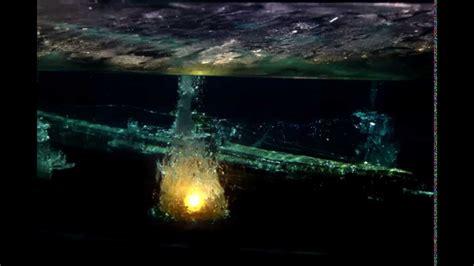 german u boats videos depth charge sinking u boat diorama youtube