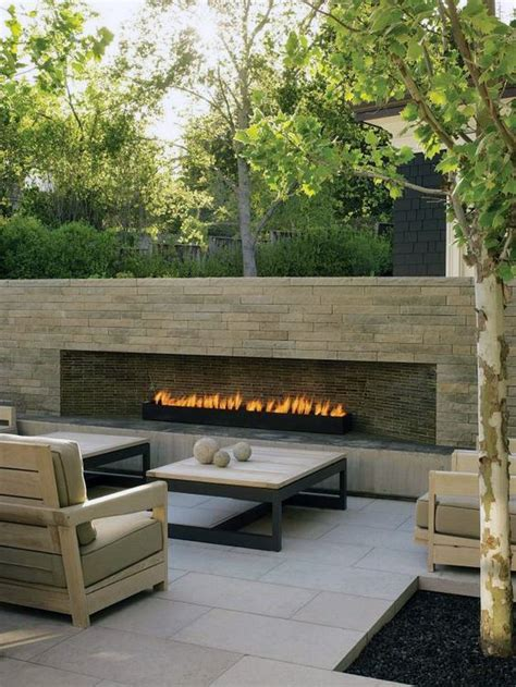 fireplace in backyard 70 outdoor fireplace designs for men cool fire pit ideas