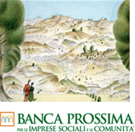 banca prossima sostegno al terzo settore intesa sanpaolo