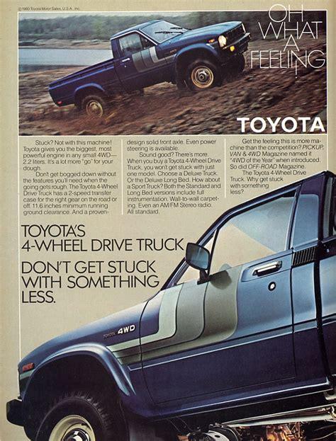 vintage toyota truck toyota truck vintage car ads