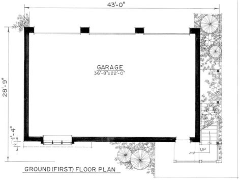 three car garage floor plans 3 car garage building plans