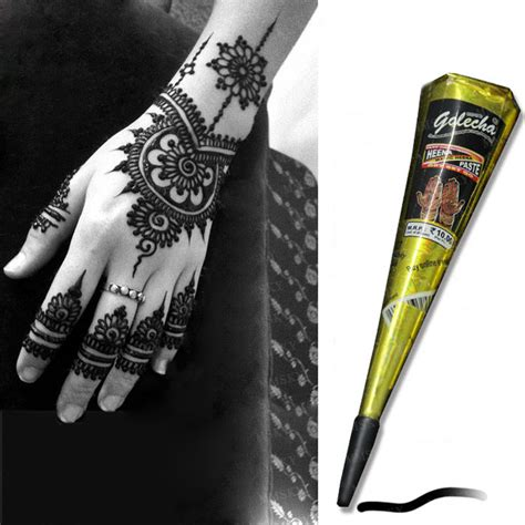 where can u buy henna tattoo kits golecha brand tool kit waterproof black