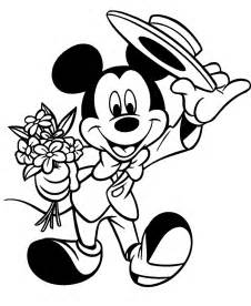 interactive magazine disney valentine colorng pages mickey minnie