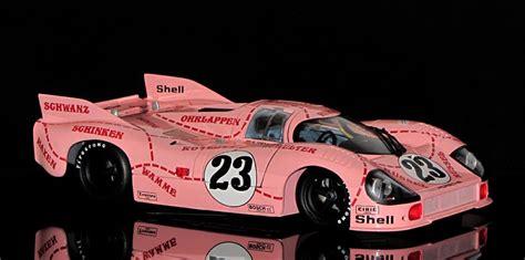 Porsche 917 Pink Pig by Mega Rarity Porsche 917 20 Pink Pig 1971 Minichs