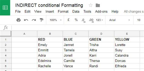 format date google sheets formula role of indirect function in conditional formatting in