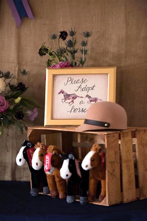 horse themed events kara s party ideas rustic equestrian horse birthday party