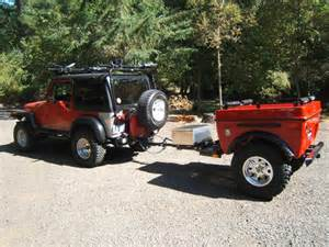Jeep Road Cer Trailer Jeep Wrangler Road Cer Trailers And Jeep 4x4