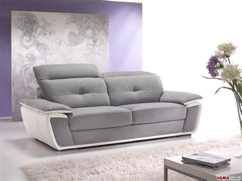 divano con relax divano con poggiatesta relax in pelle e microfibra