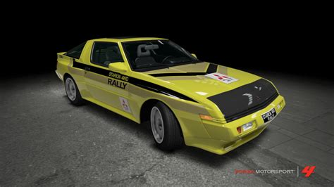 mitsubishi starion rally car mitsubishi starion esi r rally car by outcastone on deviantart